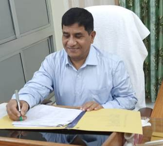 Prof. Ravi Shanker Singh Took Charge as the Vice-Chancellor, Dr.Rammanohar Lohia Avadh University on 31st July 2020
